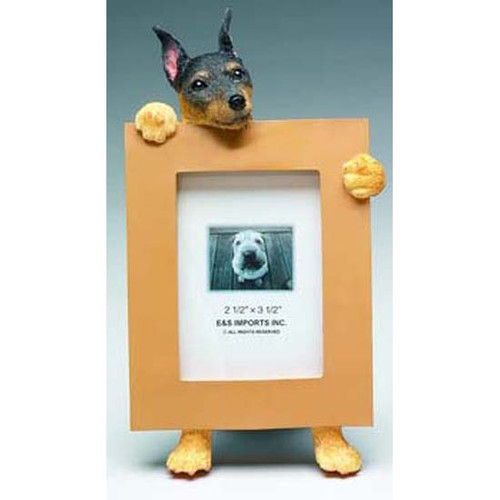 E&S Imports 2.5in x 3.5in Picture Frame - Miniature Pincher (35315-48)