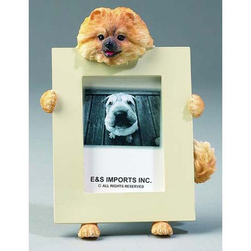 E&S Imports 2.5in x 3.5in Picture Frame - Pomeranian (35315-27)