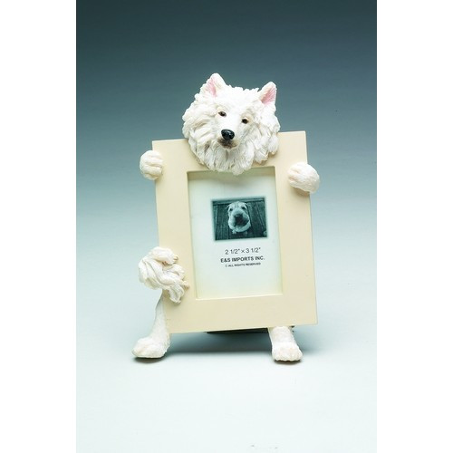 E&S Imports 2.5in x 3.5in Picture Frame - Samoyed (35315-82)