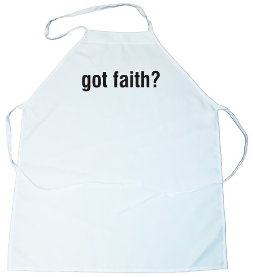 Apron - got faith? (100-0074-000)
