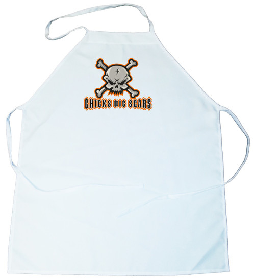 Apron -  Chicks Dig Scars (100-0069-000)