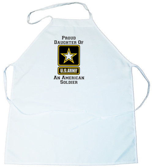 Apron -  Proud Daughter of an American Soldier (100-0058-011)