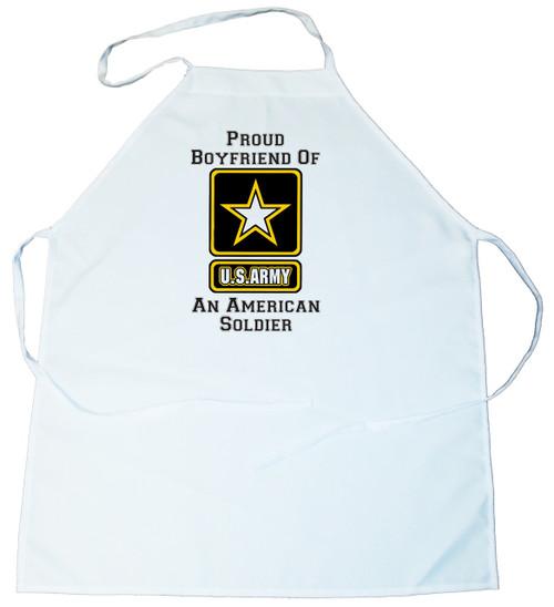 Apron -  Proud Boyfriend of an American Soldier (100-0058-007)