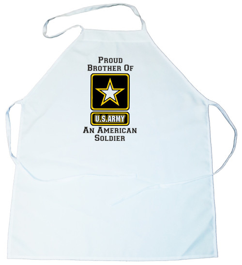 Apron -  Proud Brother of an American Soldier (100-0058-001)