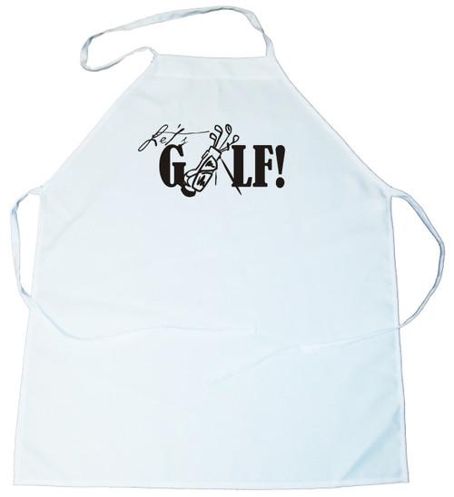 Apron -  Let's Golf (100-0016-000)