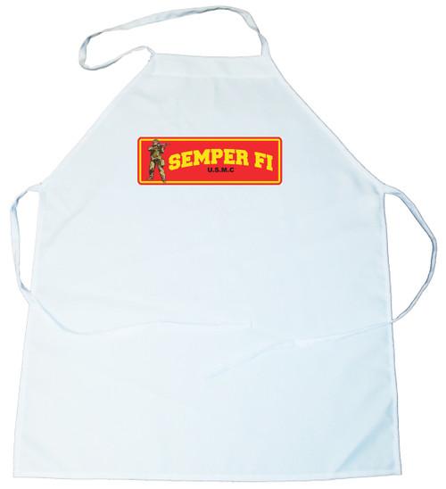 Apron -  Semper Fi. USMC (100-0012-000)