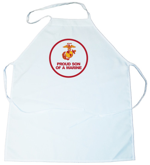 Apron -  Proud Son of a Marine (100-0007-010)