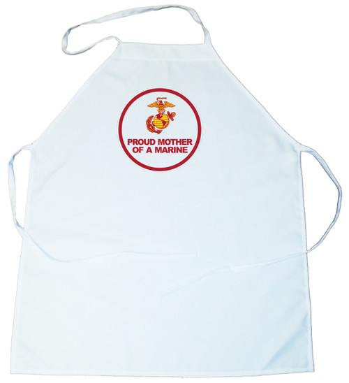 Apron -  Proud Mother of a Marine (100-0007-009)