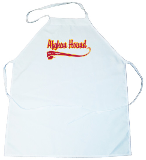 Breed of Champion Apron - Afghan Hound (100-0001-102)