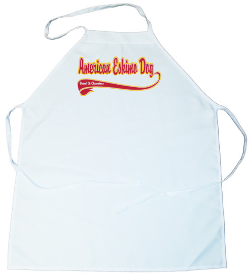 Breed of Champion  Apron - American Eskimo Dog (100-0001-110)