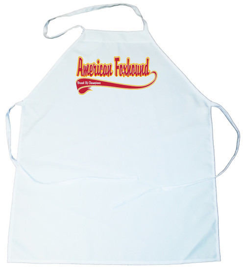 Breed of Champion  Apron - American Foxhound (100-0001-112)