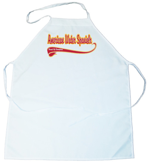 Breed of Champion  Apron - American Water Spaniel (100-0001-116)