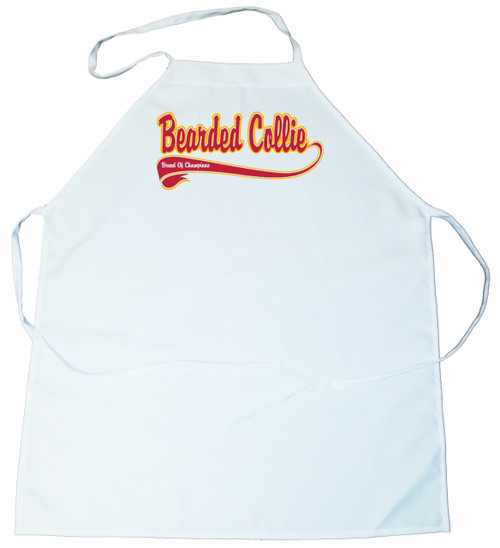 Breed of Champion  Apron - Bearded Collie (100-0001-132)