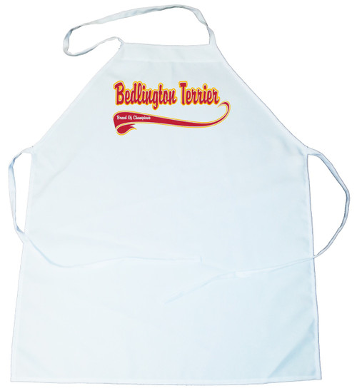 Breed of Champion  Apron - Bedlington Terrier (100-0001-136)