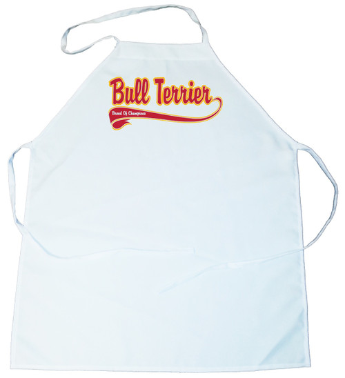 Breed of Champion  Apron - Bull Terrier (100-0001-172)