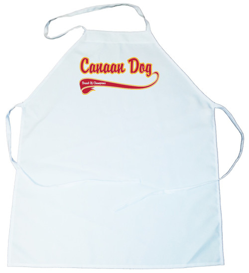 Breed of Champion  Apron - Canaan Dog (100-0001-180)