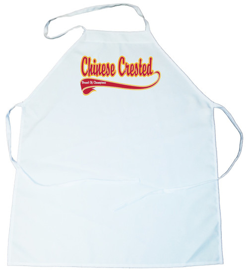 Breed of Champion  Apron - Chinese Crested (100-0001-190)