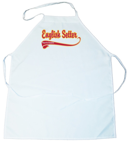 Breed of Champion  Apron - English Setter (100-0001-218)