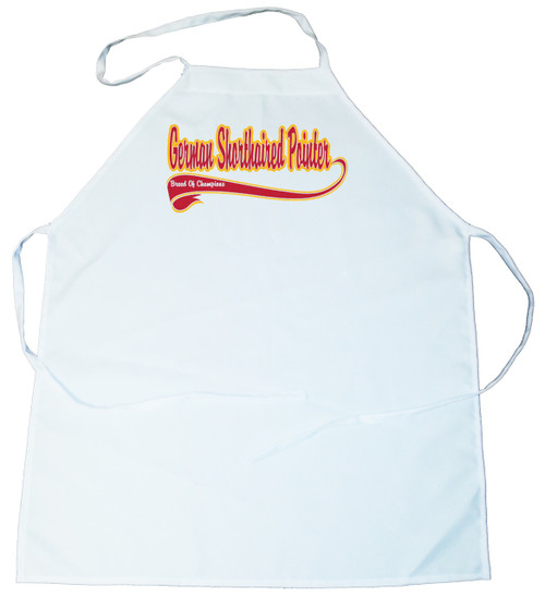 Breed of Champion  Apron - German Shorthaired Pointer (100-0001-236)