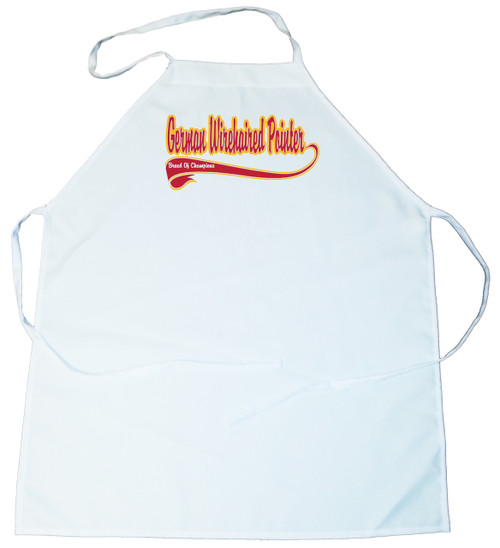 Breed of Champion  Apron - German Wirehaired Pointer (100-0001-238)