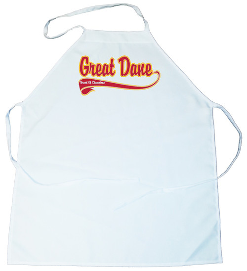 Breed of Champion  Apron - Great Dane (100-0001-248)