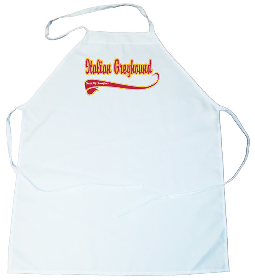 Breed of Champion  Apron - Italian Greyhound (100-0001-270)
