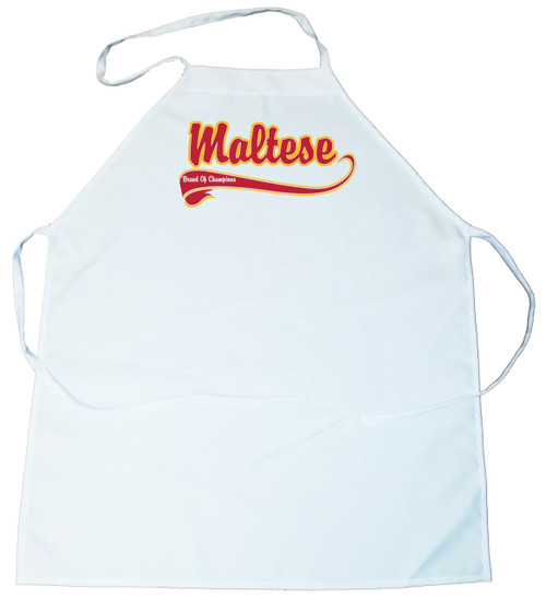 Breed of Champion Apron - Maltese (100-0001-292)