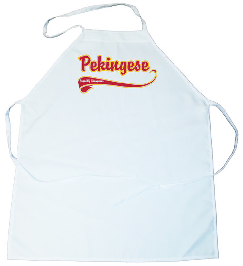 Breed of Champion  Apron - Pekingese (100-0001-324)