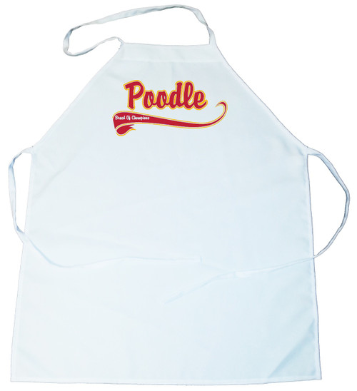 Breed of Champion  Apron - Poodle (100-0001-340)