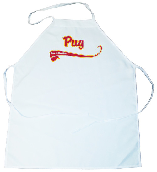 Breed of Champion  Apron - Pug (100-0001-344)