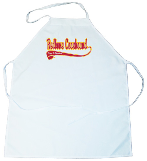 Breed of Champion  Apron - Redbone Coonhound (100-0001-348)