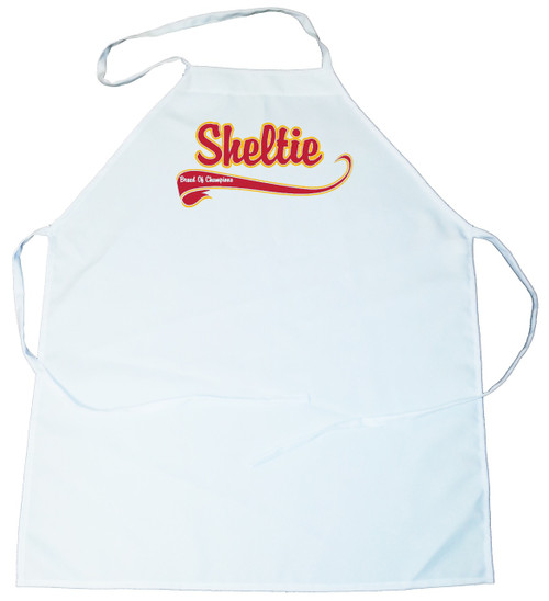 Breed of Champion  Apron - Sheltie (100-0001-368A)
