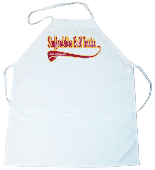 Breed of Champion  Apron - Staffordshire Bull Terrier (100-0001-386)