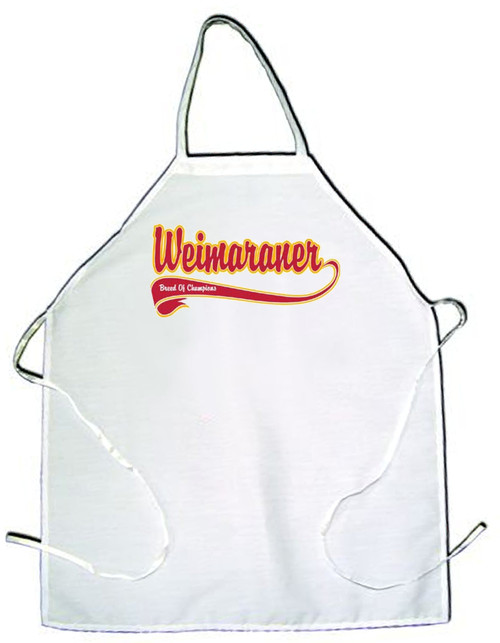 Breed of Champion  Apron - Weimaraner (100-0001-402)