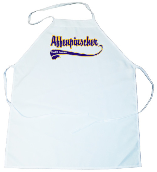 Breed of Champion (Blue) Apron - Affenpinscher (100-0002-100)