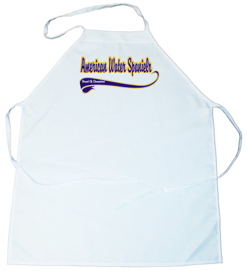 Breed of Champion (Blue) Apron - American Water Spaniel (100-0002-116)