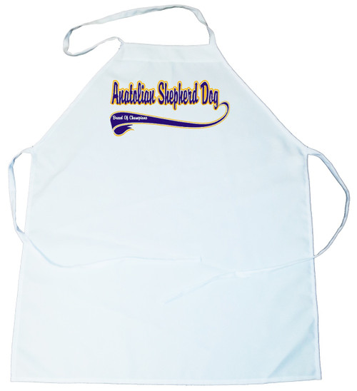 Breed of Champion (Blue) Apron - Anatolian Shepherd Dog (100-0002-118)