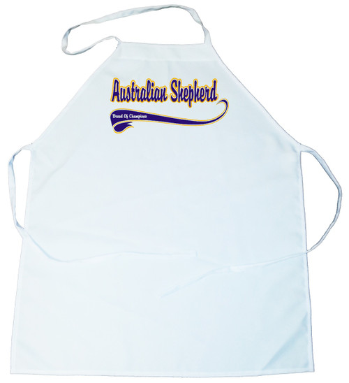 Breed of Champion (Blue) Apron - Australian Shepherd (100-0002-122)