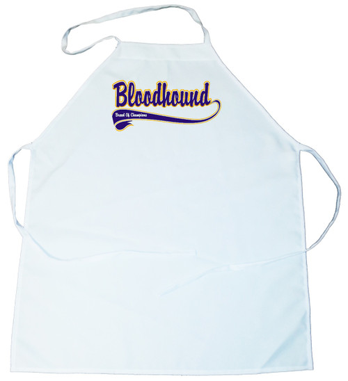 Breed of Champion (Blue) Apron - Bloodhound (100-0002-152)