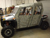 Polaris RZR 4 800 / XP 900 Full Cab Enclosure by Green Mountain Outdoors In Black