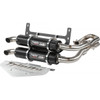 Polaris ACE 900 Stage 5 Dual Exhaust Systems Black By Trinity Racing