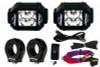 "Polaris RZR 3w 2X2 A-Pillar Light Kit (1.75"" Clamps) By Lazer Star Lights"