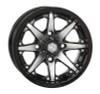 Polaris RZR 12x7 Gloss Black/Machined HD10 Wheels by STI Powersports