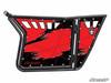 Polaris RZR 570 / 800 / XP 900 Standard Red 1 Door Graphics by SuperATV