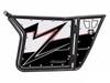 Polaris RZR 570 / 800 / XP 900 White Lightning 1 Door Graphics by SuperATV