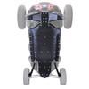 """Polaris RZR 4 XP Turbo S Ultimate 3/8"""" UHMW Skid Plate Kit by Factory UTV"""