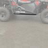"Polaris RZR 1000 S 1/2"" UHMW Rock Sliders by Factory UTV"