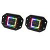 "Polaris RZR 3"" ColorADAPT Series RGB-Halo LED Flush Mounted Lights by Race Sport Lighting"