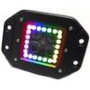 Polaris RZR 3 Inch ColorADAPT Series RGB-Halo LED Flush Mounted Lights by Race Sport Lighting
