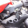 "Polaris RZR 1000 ""S"" Tilt Steering Gas Shock by Quad Logic"